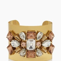 crystal arches statement cuff