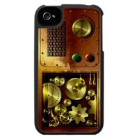 Steam Punked Again Iphone 4 Case from Zazzle.com