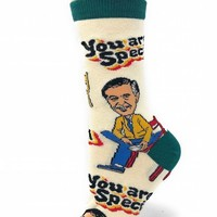 You Are Special Mister Rogers Women's Crew Socks