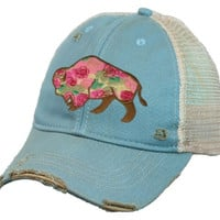 Buffalo Rose Cap by Original Cowgirl Clothing Company  Hat-620