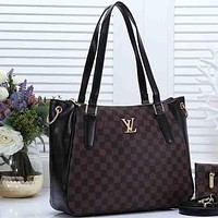 Louis Vuitton LV Women Fashion Leather Handbag  Shoulder Bag