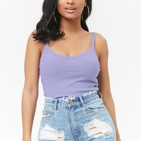 Ribbed Crop Cami