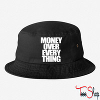 Money Over Everything bucket hat