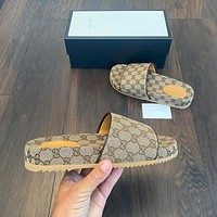 GUCCI Fashion casual slippers-2