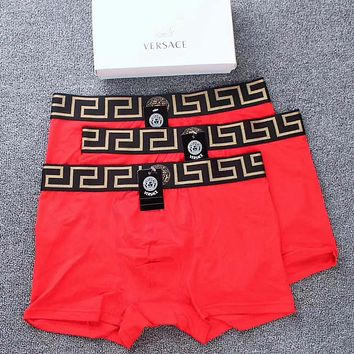 Versace Briefs Shorts Underpants Male Cotton Underwear