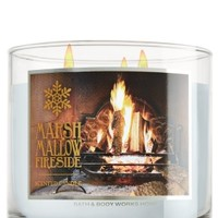 3-Wick Candle Marshmallow Fireside