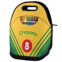 Crayon Box Lunch Tote Bag