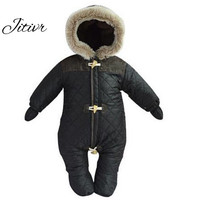New 2016 Unisex Baby Snowsuit Down Coat Romper Newborn Snowsuit Snow Wear Coveralls Coats Outwear Winter Warn Baby Clothing