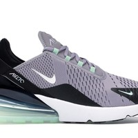 Nike Men's Air Max 270 Fresh Mint Atmosphere Grey Black Running Shoes