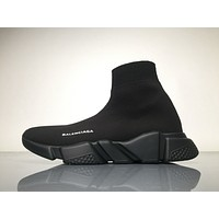 Brand New Balenciaga Speed Trainer in Black/Black Womans SZ 5 Original
