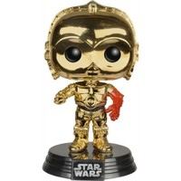 Star Wars Episode VII The Force Awakens | Metallic C-3PO POP! VINYL