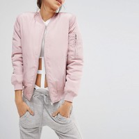 Missguided | Missguided Bomber Jacket at ASOS