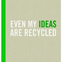 Knock Knock Kraft Journal, Even My Ideas are Recycled