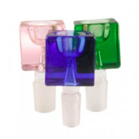 Small Transparent Square Bowls - 19mm