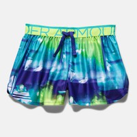 Girls' UA Printed Play Up Shorts | Under Armour US