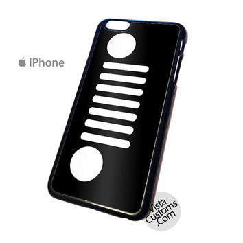 jeep-grill-wallpaper Phone Case For Apple,  iphone 4, 4S, 5, 5S, 5C, 6, 6 +, iPod, 4 / 5, iPad 3 / 4 / 5, Samsung, Galaxy, S3, S4, S5, S6, Note, HTC, HTC One, HTC One X, BlackBerry, Z10