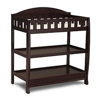 Delta Dark Chocolate Changing Table with Pad - Baby - Baby Furniture - Changing Tables