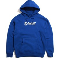 International Hoodie Oceanic Blue
