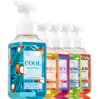 Let's Get Away 5-Pack Gentle Foaming Soap | Bath And Body Works