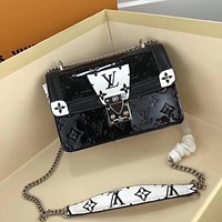 new lv louis vuitton womens leather shoulder bag lv tote lv handbag lv shopping bag lv messenger bags 651