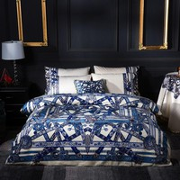 Cool Luxury Flannel Glamorous Color Bedding Set Supporting Home Decoration Fleece Duvet cover set Bed Sheet Queen King size 4-12pcsAT_93_12