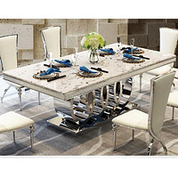 7 PCS Rich Look Dining Table Set For Dining Decoration