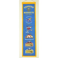 Denver Nuggets NBA Heritage Banner (8x32)