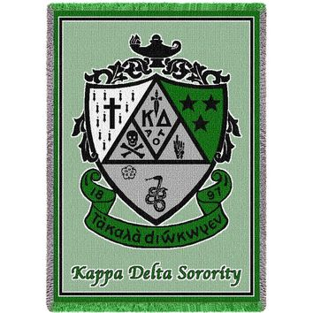 Kappa Delta Throw Blanket