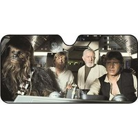 Star Wars Scene Sunshade - Multi, Accordion, Front - Super Cheap Auto
