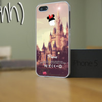Disney iPhone 5 Rubber or Plastic Case- Disney Themed iPhone Custom Minnie Mouse Case