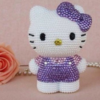 Rhinstone hello kitty iphone 5