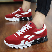 Spring autumn men Sneakers men trainers sneakers shoes sport Running shoes breathable sneakers sport shoes A17