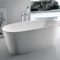 "Rounded Freestanding Bathtub (61""x27"") - SW-102"