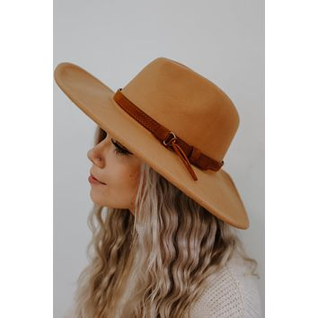 Set The Trend Hat - Camel
