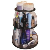 Makeup & Cosmetic Organizer That Spins for Easy Access to all your Beauty Essentials. Save Space, Only 12