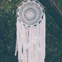 By The Moon - Delilah Dreamcatcher - White