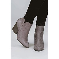 Isabelle V-Cut Booties