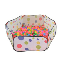 New 120cm Kid Portable Outdoor Indoor Fun Play Toy Tent House Playhut Hut Ball Pool