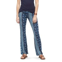 Women's Printed Knit Flare Pant - Mossimo Supply Co.™ (Junior's)