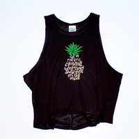 Be a Pineapple Muscle Tank Available in 3 Colors