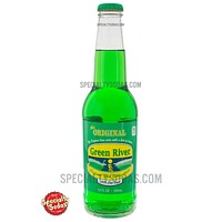 Green River Soda 12oz Glass Bottle