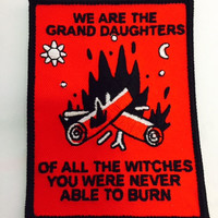 Grand Daughters of Witches Patch