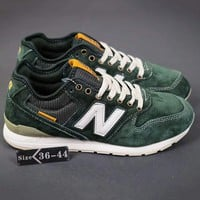 """New Balance"" Fashion Casual All-match N Words Breathable Couple Sneakers Shoes Army green G-A-YYMY-XY"