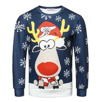 3D Jumper Snowman Deer NEW Santa Claus Xmas Patterned Sweater Ugly Christmas Sweaters Tops For Men Women Pullovers Blusas
