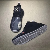Best Online Sale Kaws x Adidas Consortium NMD XR1 Interstellar Black Grey BY9948 Boost Sport Running Shoes Classic Casual Shoes Sneakers