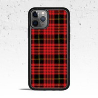 Plaid Red Phone Case Cover for Apple iPhone Samsung Galaxy S & Note