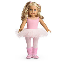 American Girl® Dolls: Ballet Outfit for Dolls + Charm