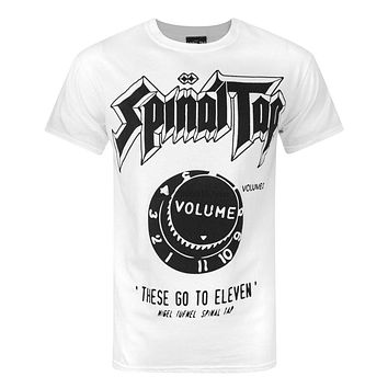 Official Spinal Tap Eleven Men T Shirt(1)|T-Shirts
