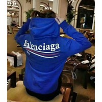 Balenciaga Casual Sport Loose Hooded Top Sweater Hoodie Sweatshirt