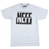 Neff Daily Split Screen T-Shirt - Athletic Heather